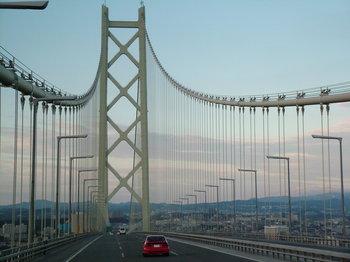 帰りのバスから見える大橋と神戸の街 - コピー.jpg
